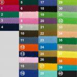 Cotton bag chart